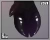 Rubber  Clover Black pig