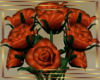 !LL! Burnt Orange Roses
