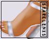 She's Fly Heels White