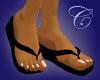 Flip Flops with Pedicure
