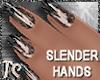 TigC Slender Blk Glitter