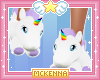 M. Unicorn Slippers