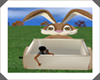 easter bunny photo op