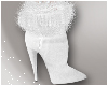 Winter White Fur Boots