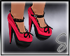 [Sev] Bow Heels Pink