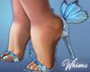 Summery Butterfly Heels