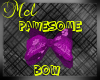 Purple Pawesome bow