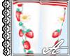 AP: Berry Socks~ White