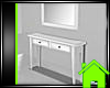 ! HALL TABLE W/MIRROR