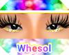 yellow glitter eyeshadow