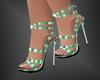Jola Green Heels