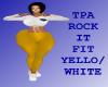 Bm TPA Rockit Yello/whit
