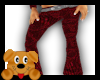 !A! Textured Red Pants