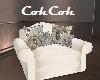 Ornate Pillow Chair