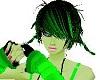 -x- toxic green cutie
