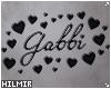 Gabbi Custom Headsign