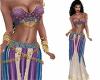 Harem Adina Purple Blue