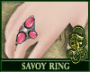 Savoy Ring Pink