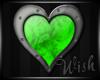 {Wish}Gree Heart Sticker