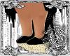{G}Black & Gold Heels