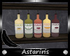 [Ast] Mix Syrup Bottles