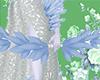 El. Blue Crystal Bow