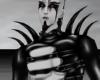 Black Shoulder Horns