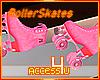 ! Pink Roller Skates