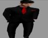 [BRI] Blk Suit w/Red Tie