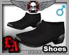 LA - Black Gator Boots