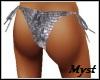 Silver Rave Bikini Panty