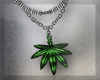 > WEED NECKLACE
