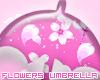 Flowers Umbrella