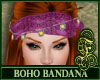 Boho Bandana Purple