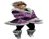 Winter Leggins Purple