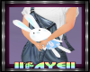 Kids Easter Bunny Blue