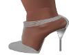 Questa  Silver  Heels