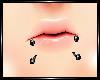 ~<3 Lip Piercing[bl] ~<3