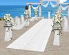White Wedding Aisle 1