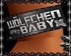 Wölfchen+Baby Bracelet