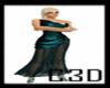 C3D- Gown Teal FSX 4