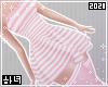 Dress | Striped Pink