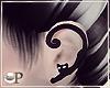 Wich Black Cat Earrings