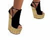 Wedge Heels Black