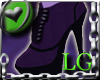Purple Ankle Boot LG