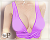 Summer Top Purple