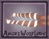 [A] White Feet Ribbon