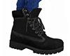 Black Work Boots (M)