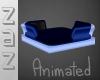 (ZaZ) Blue Cuddle Lounge