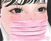 ♡ pink mask